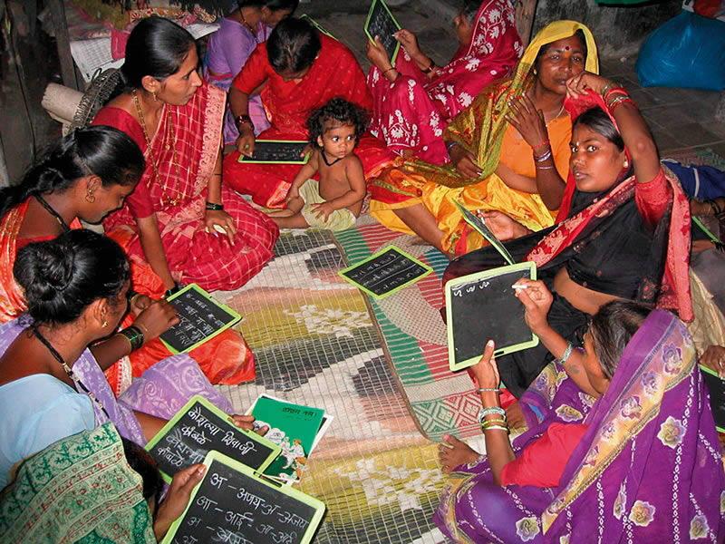 program literacy in Adult india